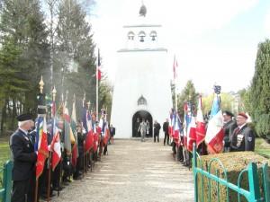 Inhumation d'un soldat russe inconnu